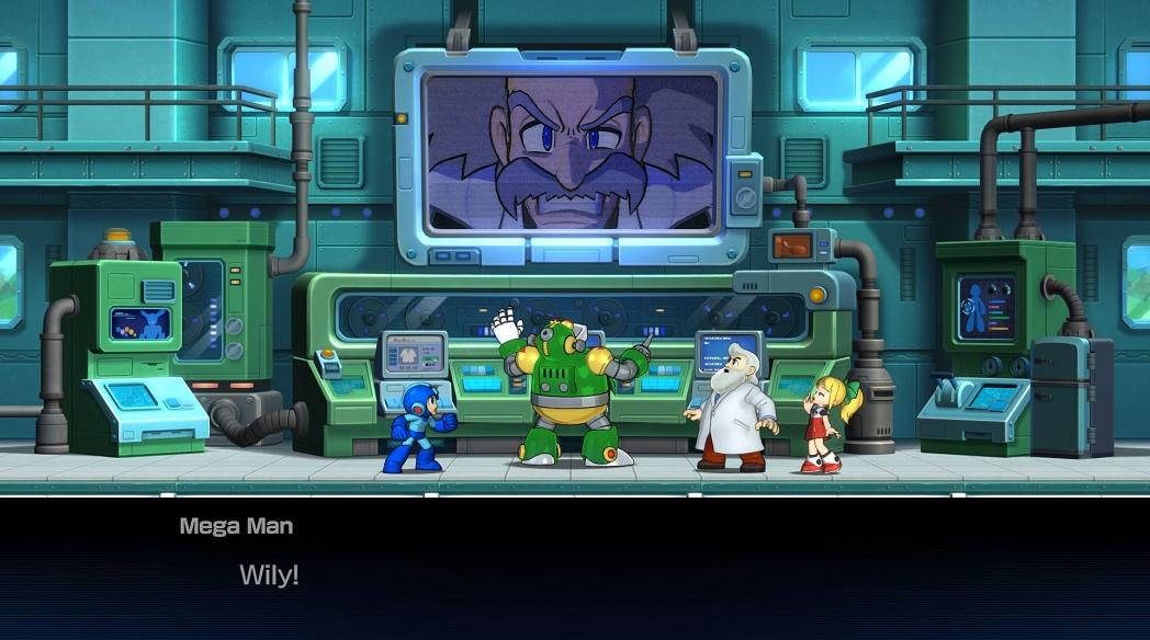 dr wily, dr light, capcom, videojáték, mega man 11
